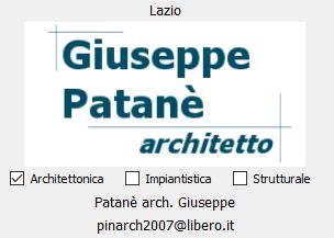 Patanè arch. Giuseppe