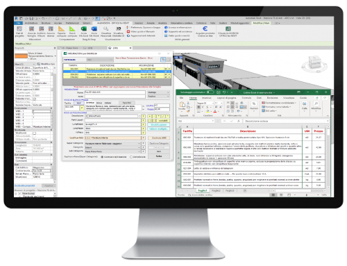 ArchVISION OFFICE for REVIT 22Revit – Office (Excel e Word)